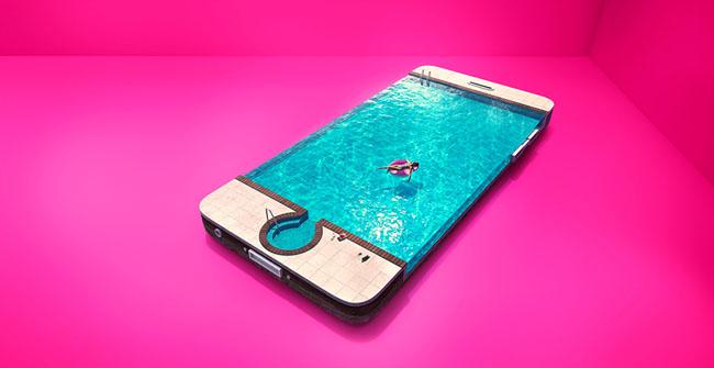 3 Mobile手机无限数据服务系列平面广告设计欣赏