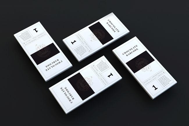 国外条形码创意巧克力包装作品