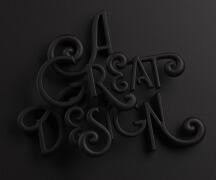 南非设计师Katt Phatt立体字设计作品NO.5