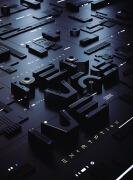 英国设计师SAWDUST概念立体字体设计欣赏