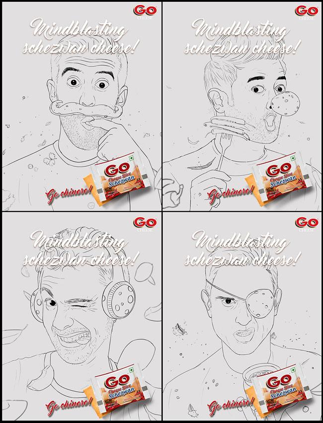 国外GO CHEESE奶酪品牌趣味创意设计作品欣赏