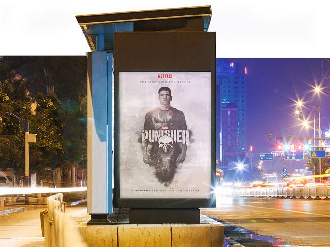 巴西设计师Everton漫威电影《惩罚者》海报设计
