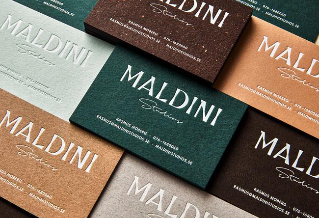 瑞典Maldini工作室VI设计作品