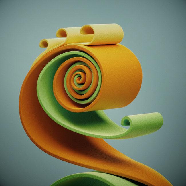 波兰设计师YUMEKON海洋生物概念艺术设计欣赏
