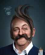 MAO''S理发店趣味平面广告设计作品欣赏