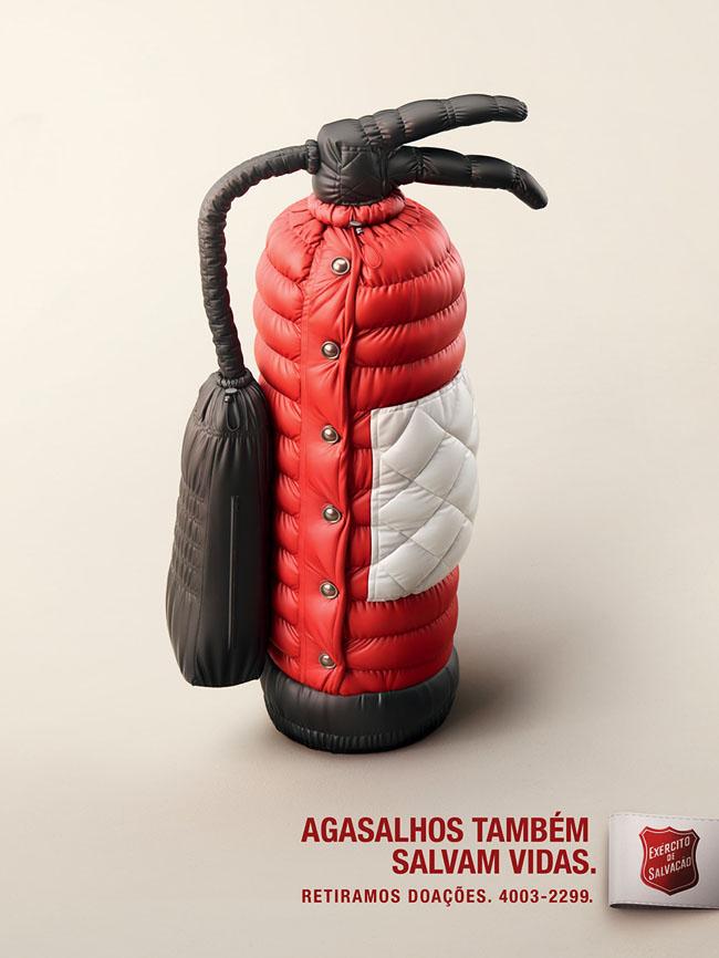 Agasalhos救生衣系列创意广告设计作品欣赏