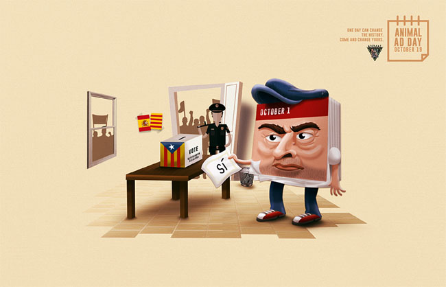 国外Animal Ad Day创意学院平面广告设计