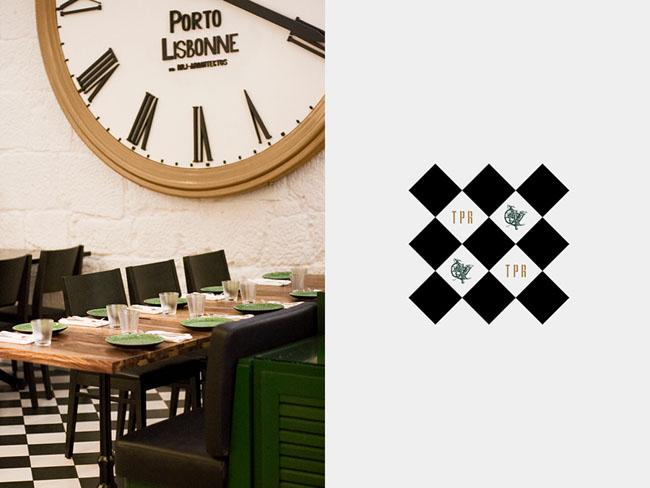 国外Typographia餐厅品牌形象设计
