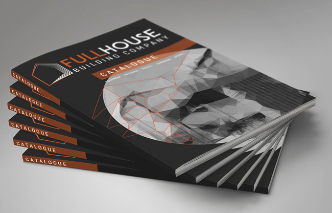 FULLHOUSE建筑公司VI设计基础部分展示