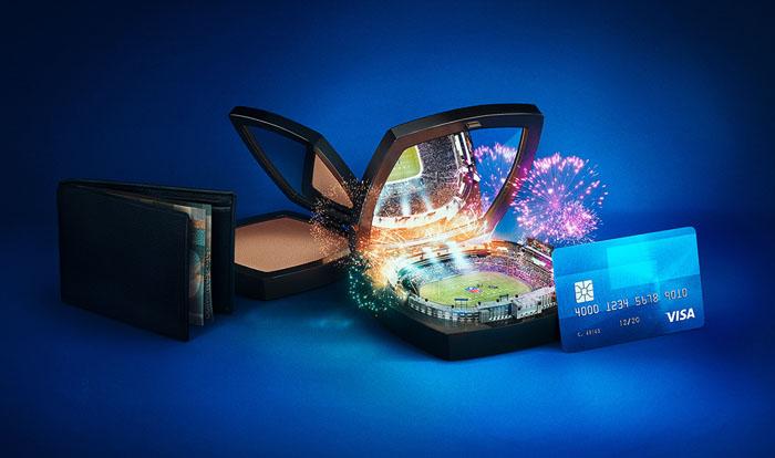 国外VISA & NFL系列创意广告设计作品