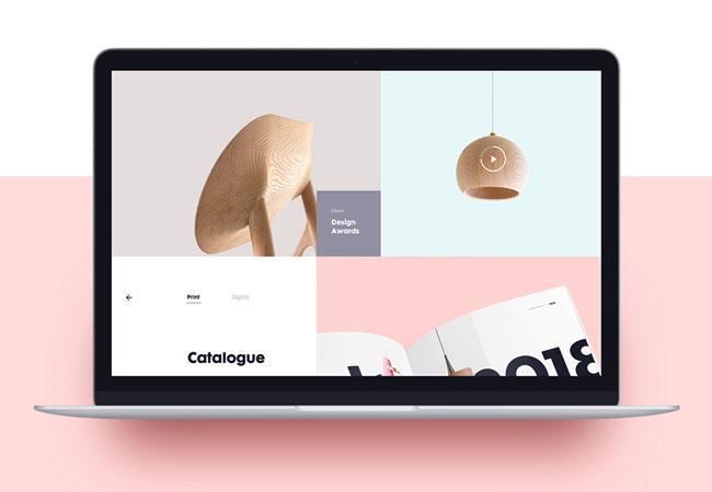 国外Nona Home家装商城网页设计作品欣赏