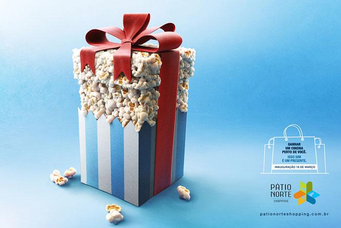 国外Patio Norte购物中心创意平面广告作品欣赏