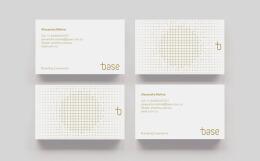 国外Base品牌创意名片设计
