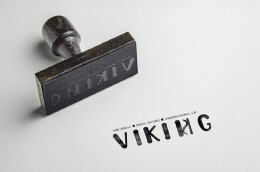 维京人的个人创意名片设计欣赏
