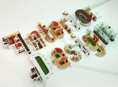 国外字体设计之莫斯科FlyartGroup工作室创意3D字体
