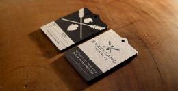 Blackland服装品牌名片设计欣赏