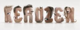 国外设计师JC Debroize创意人眼睛立体字母设计欣赏