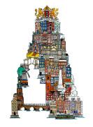 根据欧洲城市特色而创作的26个英文字母设计欣赏