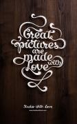 6款精致的手工英文字体设计欣赏