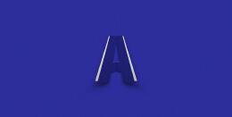 国外漂亮的Folding Fonts折叠字母设计欣赏
