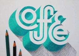 精美逼真手绘立体创意字体设计
