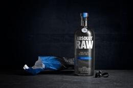 Absolut RAW伏特加精美酒瓶包装设计欣赏