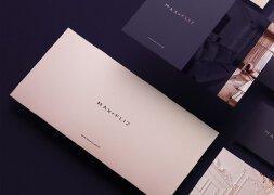 波兰室内设计公司时尚简约品牌形象设计