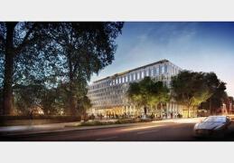 奇普菲尔德修整美国大使馆建筑的设计图欣赏