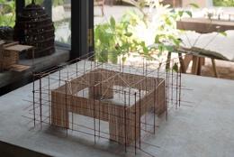孟买工作室使用竹子和牛粪建造墨尔本展览馆