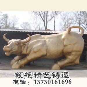 领航动物雕塑