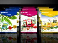 仙脂露产品宣传品设计