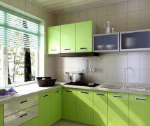 彩色厨房装修 让平凡生活不平淡