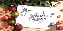 圣诞节的创意贺卡设计作品欣赏