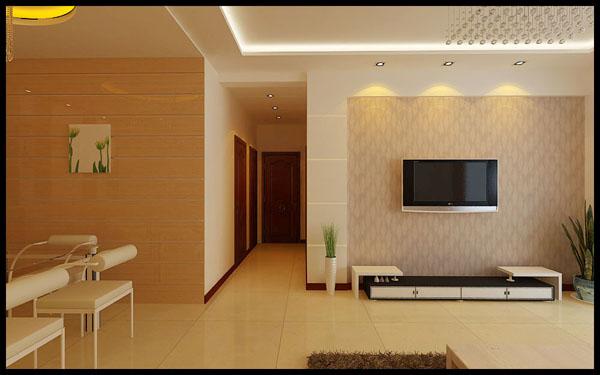 现代简约三房二厅家装设计