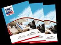 汽车太阳膜产品画册设计